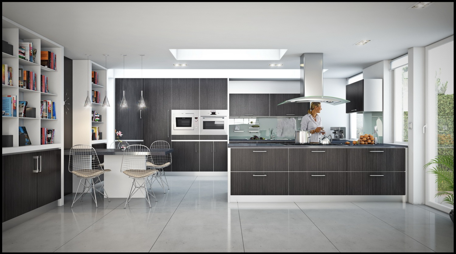 3 Gorgeous Open Modern Kitchen 1