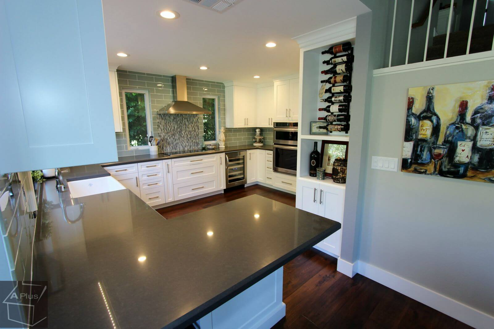 Transitional Style White Kitchen Remodel In Trabuco Canyon00018