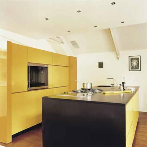 Yellow Kitchen 3