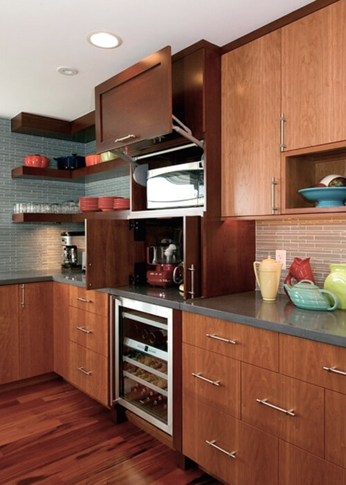 Microwave Cabinet Divine Kitchens