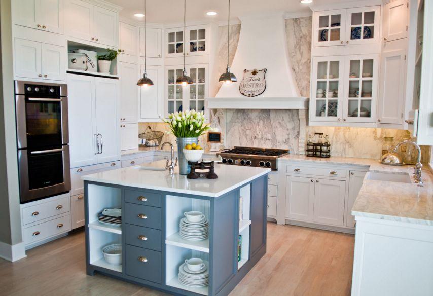 White Cabinets With White Quartz Countertops Ideas Small Area