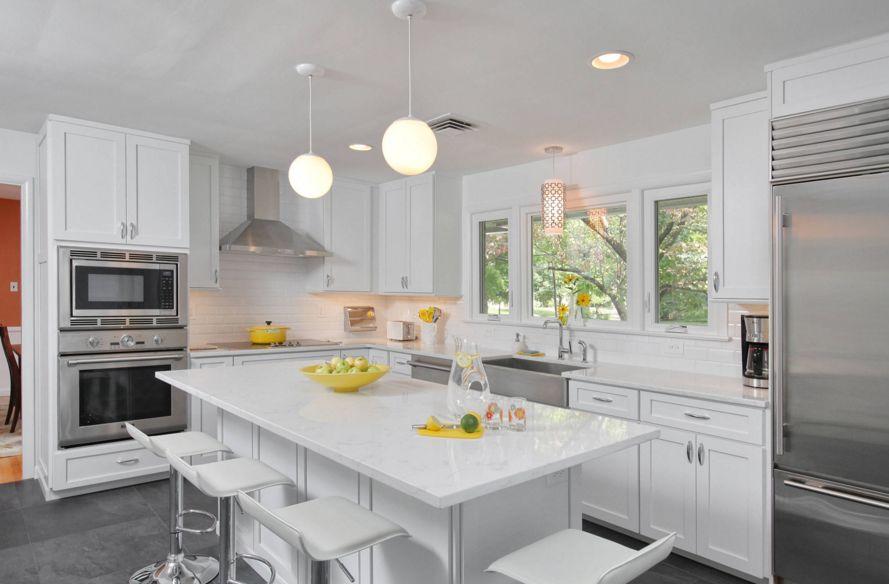 Organizing a small kitchen ideas from Leonard Blandon: White kitchen on