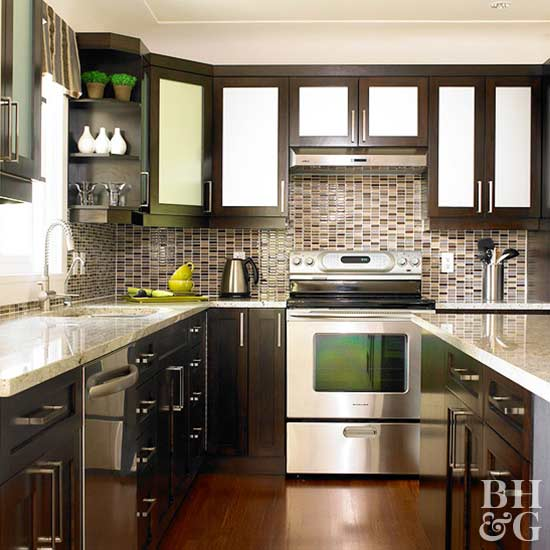 Small Kitchen With Reflective Surfaces: Kitchen Ideas And Designs From Jett Holliman: Best